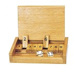 Shut the box, tellespill i tre