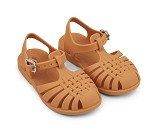 Gule sandaler i gummi, str 24 - Liewood