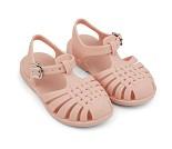 Rosa sandaler i gummi, str 25 - Liewood