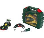 Bygg racerbil med verktøy og koffert fra Bosch