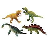Dinosaurfigur, 4 valg