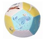 Hval og rev, myk ball til baby - Moulin Roty