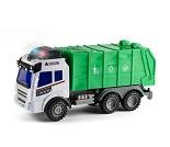 Søppelbil med lyd og lys, 28 cm