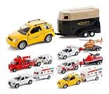 Modellbil, bil med tilhenger, 8 valg