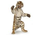 Tiger på to bein, miniatyrfigur fra PAPO