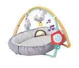 Babygym med musikk og babynest