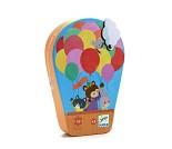Luftballong, puslespill med 16 brikker fra Djeco