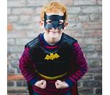 Vendbar Spiderman- og Batmandrakt, 4-7 år, kostyme