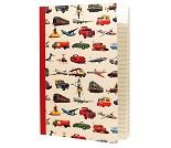 Notatbok med biler