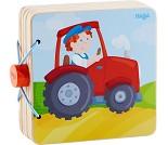 Traktor, babybok i tre fra Haba