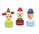 Stempel med julemotiv, 3 valg