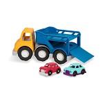 Biltransport, stor lekebil i plast