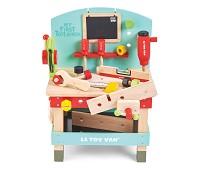 Arbeidsbenk i tre med verktøy - Le Toy Van