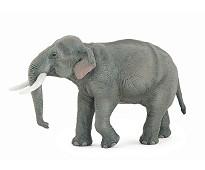 Asiatisk elefant miniatyrfigur - Papo