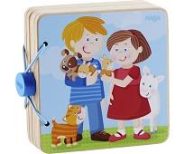 Babybok i tre med dyr - Haba