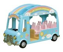 Skolebuss med syv seter - Sylvanian Families