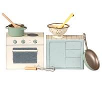 Liten eske med kjøkkenutstyr, 8 cm - Maileg