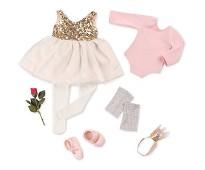 Ballerina, dukkeklær - Our Generation