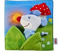 God natt, babybok i stoff - Haba