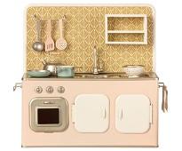 Lite retro kjøkken i metall, 33 cm - Maileg