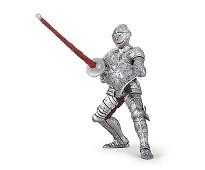 Ridder i rustning miniatyrfigur - Papo