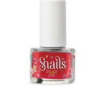 Rød neglelakk, Ladybird 7 ml - Snails