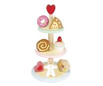Etasjefat med kaker i tre - Le Toy Van