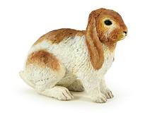 Kanin miniatyrfigur - Papo