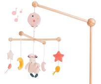 Stjerner og måner, uro med musikk - Moulin Roty