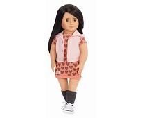 Lili, dukke med kjole og vest - Our Generation