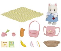 Pikniksett med katt - Sylvanian Families