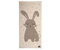 Vevet gulvteppe med kanin - Roommate