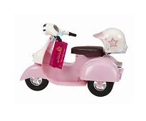Rosa scooter, dukketilbehør - Our Generation