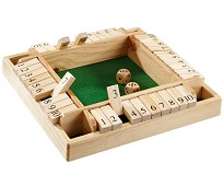 Shut the box, tellespill for opptil 4 spillere