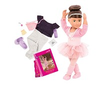 Sydney Lee, dukke med 2 sett klær - Our Generation