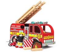 Brannbil i tre - Le Toy Van