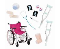Sykehussett, dukketilbehør til Our Generation