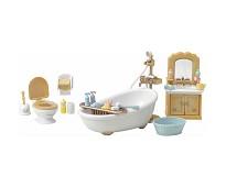 Sett med toalett og badekar - Sylvanian Families