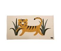 Vevet gulvteppe med tiger fra Roommate