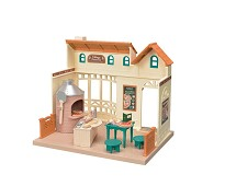 Pizzarestaurant fra Sylvanian Families