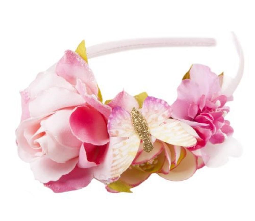 ff3d3cd5 Hårbøyle med rosa blomster   Sprell - veldig fine leker og ...