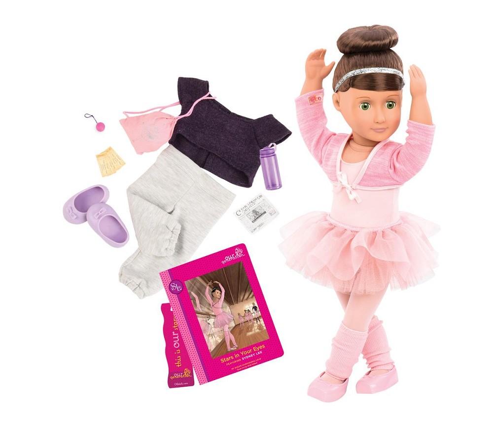2aa6aad1 Sydney Lee, dukke med 2 sett klær - Our Generation   Sprell - veldig ...