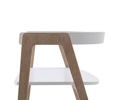 Wood justerbar stol Oliver Furniture