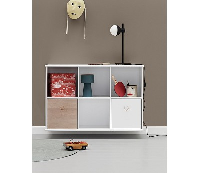 Hylle 3x2, Wood - Oliver Furniture