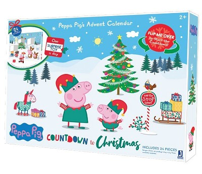 Peppa Gris adventskalender 2020