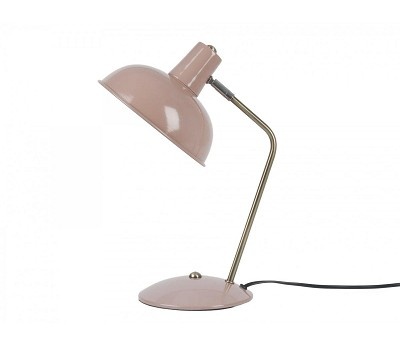 Dus rosa bordlampe i metall