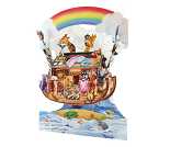 3D-postkort med Noahs Ark