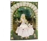 3D-postkort med prinsesse
