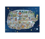 Puslespill med romskip, 1500 brikker