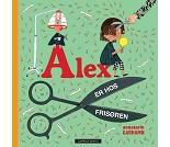 Alex er hos frisøren, barnebok